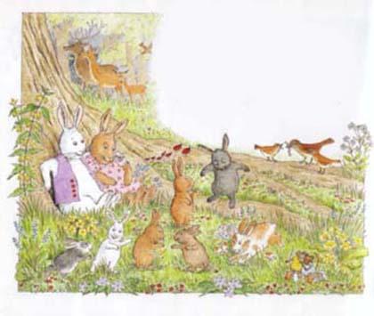絵本うさぎのだいじなみつけもの~The Bunny Who Found Easter~